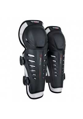 2021 Fox Titan Race Knee/Shin Grd, Ce [Blk]