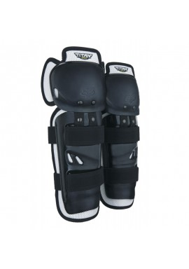 2021 Fox Titan Sport Knee/Shin Grd, Ce [Blk]