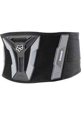 2021 Fox Turbo Xl Kidney Belt [Black/Grey]