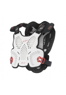 Alpinestars A1 Roost Guard White Black Red