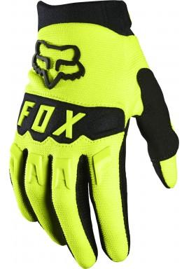 2021 Fox Kids Dirtpaw Glove [Flo Ylw]