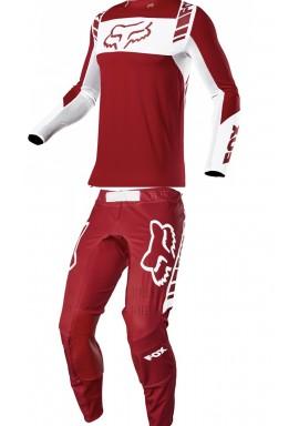 2021 Fox flexair mach one red Kit Combo