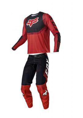 2021 Fox 360 voke flo red combo kit