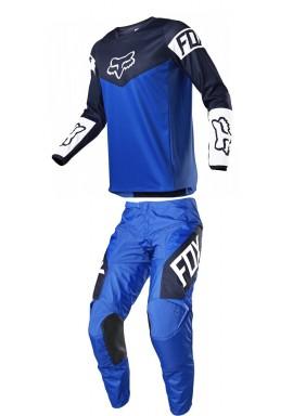 2021 Fox 180 revn blue combo kit