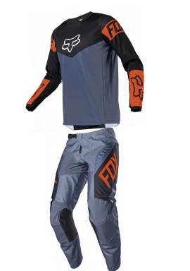 2021 Fox 180 revn blue/orange combo kit
