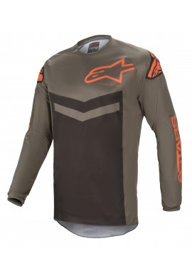 2021 Alpinestars fluid speed dark grey/orange Motocross Kit