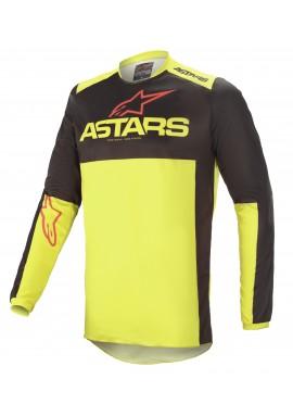 2021 Alpinestars fluid triple black/red/flo Motocross Kit