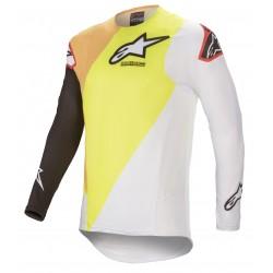 2021 Alpinestars Supertech Motocross Kit - yellow/white