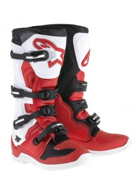Alpinestars Tech 5 Boots Red Black White
