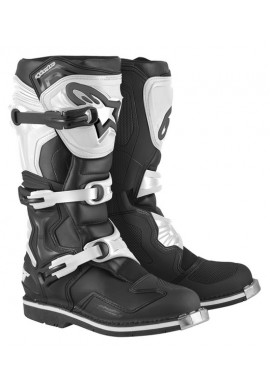 Alpinestars Tech 1 Boots Black White