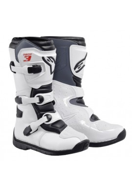 Alpinestars Tech 3S Youth Boots White