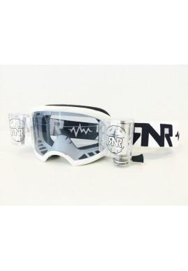 RNR Colossus Goggles WVS White