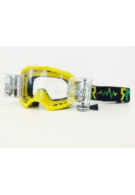 RNR Colossus Goggles WVS Yellow