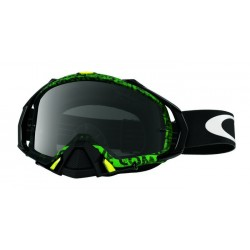 Oakley Mayhem Pro Goggles Distress Tagline
