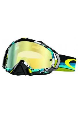 Oakley Mayhem Pro Goggles Legacy V1 Iridium