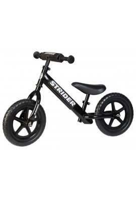 Strider Sport Childrens Balance Bike - Black