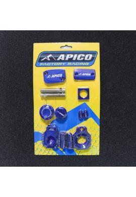 Apico KTM 125 EXC 14-16 Factory Bling Pack - Blue