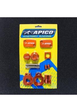 Apico Husaberg FE 450 09-14 Factory Bling Pack - Orange