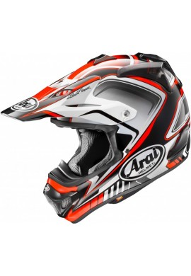 2016 Arai MX-V Helmet - Speedy Red