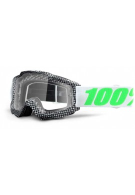 2016 100% Accuri MX Motocross Goggles - Newsworthy - Clear Lens