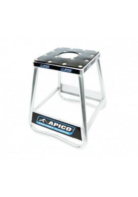 Apico Factory Racing Pro Aluminium Bike Stand - Silver