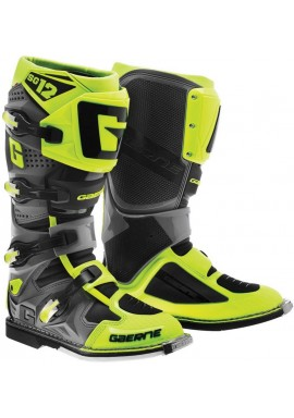 2016 Gaerne SG12 Motocross Boots - Neon Yellow Black
