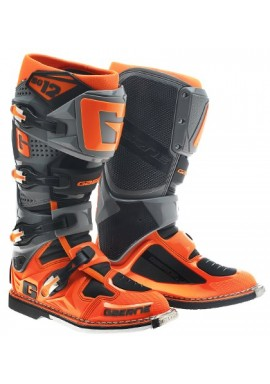 2016 Gaerne SG12 Motocross Boots - Orange Black