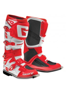 2016 Gaerne SG12 Motocross Boots - Red White