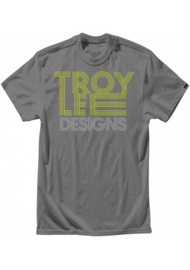 Troy Lee Designs T-Shirt - Linear Charcoal