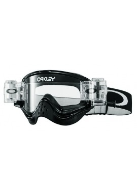 2016 Oakley O Frame Race Ready Goggles - Jet Black Clear Lens
