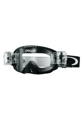 2016 Oakley 02 Race Ready Goggles - Matte Black Clear Lens