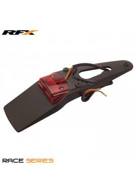 RFX Race Rear LED Tail Light (Black) Universal 3-way Stop and Tail