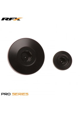 RFX Pro Engine Timing Plug Set (Black) Kawasaki KXF250 11-16 KXF450 09-16