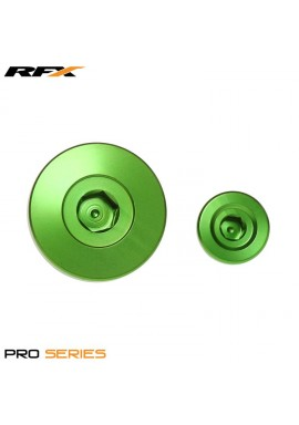 RFX Pro Engine Timing Plug Set (Green) Kawasaki KXF250 11-16 KXF450 09-16