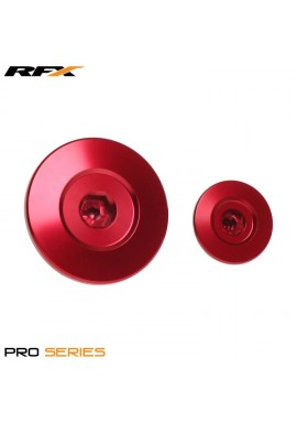 RFX Pro Engine Timing Plug Set (Red) Honda CRF150 07-16 CRF250 10-16 CRF450 02-16 CRFX450 05-16