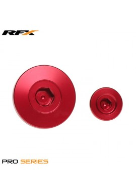 RFX Pro Engine Timing Plug Set (Red) Kawasaki KXF250 11-16 KXF450 09-16