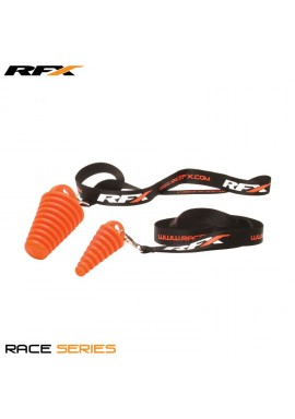 RFX Race Exhaust Bung 2 Stroke (Orange) Includes RFX Lanyard