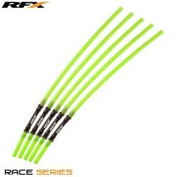 RFX Race Vent Tube - Long Pipe Inc 1 Way Valve (Green) 5 pcs