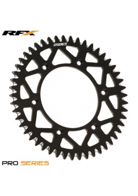 RFX Pro Series Elite Rear Sprocket Honda CR125-500 CRF250-450 83-16 (Black 49T)