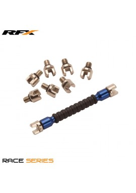 RFX Race Spoke Key (Blue) Interchangeable Multi Tip Type Sizes 5.4mm-7.0mm