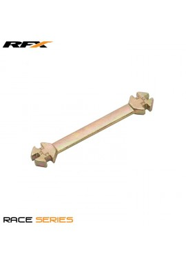 RFX Race Spoke Key (Gold) Universal 6 in 1 Type Sizes 5.6mm-6.8mm
