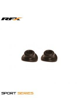 RFX Sport Valve Rubber Seals (Black) 2pcs