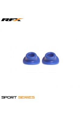 RFX Sport Valve Rubber Seals (Blue) 2pcs