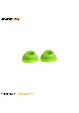 RFX Sport Valve Rubber Seals (Green) 2pcs