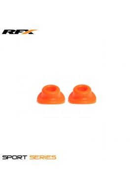 RFX Sport Valve Rubber Seals (Orange) 2pcs