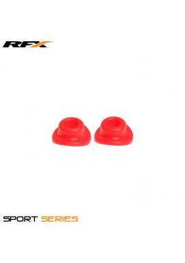 RFX Sport Valve Rubber Seals (Red) 2pcs