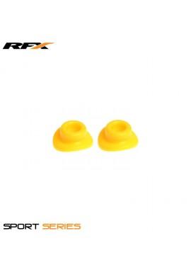 RFX Sport Valve Rubber Seals (Yellow) 2pcs