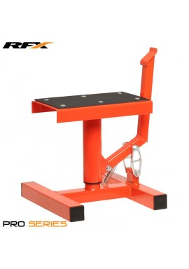 RFX Pro Single Pillar Lift up Bike Stand (Flo Orange)