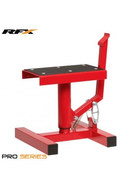 RFX Pro Single Pillar Lift up Bike Stand (Red)