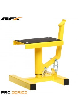 RFX Pro Single Pillar Lift up Bike Stand (Yellow)